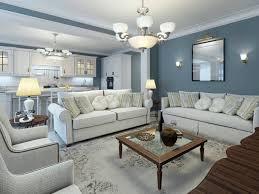best color for living room walls blue