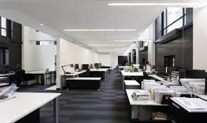 contemporary office interior. Picturesque Contemporary Office Interior Design : Cool Modern Designs Integrating Efficiency In I
