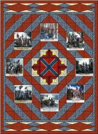 Very few Civil War quilts survived the war. & It was common for the quilts to be very elaborate and beautiful. Adamdwight.com