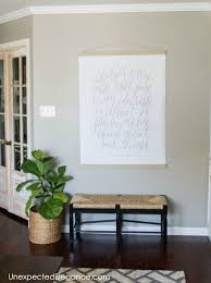 cheap large wall art diy