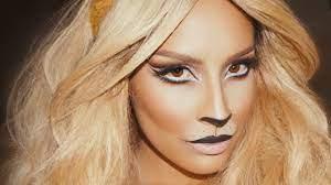 lion makeup desi perkins