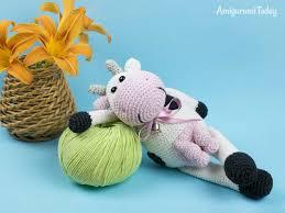 Crochet Cow Pattern Interesting Decoration