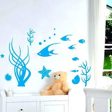 under the sea wall stickers ocean wall decals with under the sea ocean wall sticker ocean