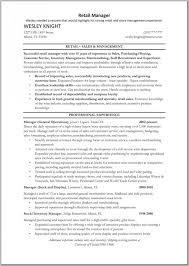 retail manager resume example 8 retail store manager resume examples