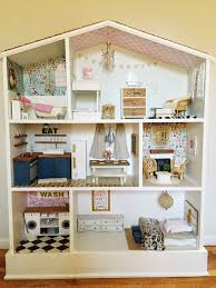 So if you're interested, I'm going to take you on a little tour. If you're  not into dollhouse renovations, you may just want to skip this post.