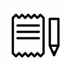 手紙を書くシルエット イラストの無料ダウンロードサイトシルエットac