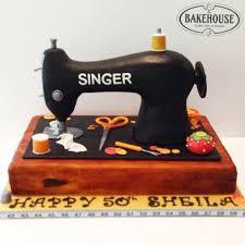 Singer Sewing Machine Cake Tutorial