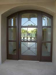 glass doors frosted glass front entry doors cross hatch leaded mediterranean entry