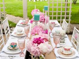 Full tea party table setting   Tea Party Ideas   Pinterest   Tea party table,  Tea parties and Teas