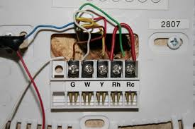 net open roads forum travel trailers adding digital thermostat from the wall i have 6 wires brown white yellow green red and blue they are connected as follows tt wire 1st and hunter connection 2nd