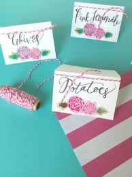 pretty pink peony diy name cards for a dinner party free cricut explore cut files