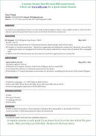 Mechanical Engineering Resume Resume Layout Com