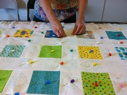 Quilt Tacking & Binding Basics - Part 5: Hand-Stitching The ... & 10 Best Sewing: Gagets Images On Pinterest | Sewing Projects ... image  number 18 of quilt tacking ... Adamdwight.com