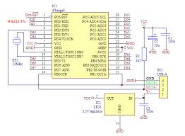 atmega8 circuit diagram the wiring diagram serial to usb home made using atmega8 electronics circuit wiring diagram