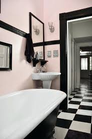 pink and black bathroom gorgeous light pink and black retro bathroom pink and black bath rugs