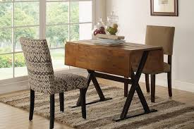the target threshold square table and chairs in a light filled dining room