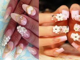 3d flower nail art designs - Nail Art Ideas