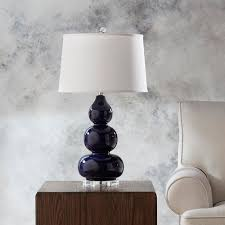 hollins navy table lamp navy table lamp34