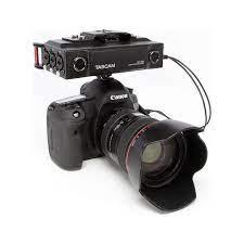 Tascam Dr70D DSLR Fotoğraf Makineleri Dört Kanallı Ses Kayıt Fiyatı