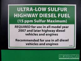 low sulfur deisel fuel additive test ultra low sulfur diesel diesel power magazine