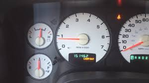 2002 Dodge Ram 1500 Dashboard Lights