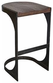 wood metal bar stools. Andie Industrial Loft Wood And Metal Bar Stool Stools