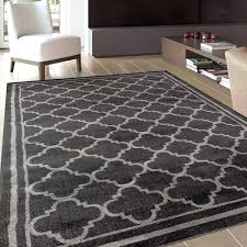 gray trellis rug dark grey trellis contemporary modern design area rug grey moroccan trellis rug uk