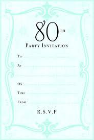 Invitation Template Word Interesting Birthday Invitation Templates Word Party Invitations For Her
