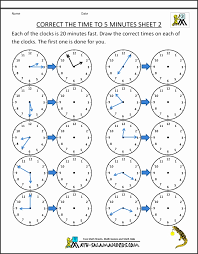 Reading Analogue Clocks Worksheet Sua4e New Telling Time Clock ...