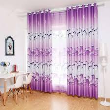 Springen Sie Dolphin Print Blackout Vorhänge Schlafzimmer Fenster