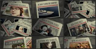 Newspaper Template After Effects Free Newspaper Promo 03 By Compdesigns Videohive