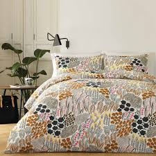 marimekko pieni full queen duvet cover set