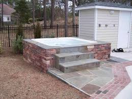 patio designs with fire pit and hot tub. Backyard Patio Designs With Hot Tub The Pool And Make Fire Pit Rectangular Upgrade Rhsolosumbacom R