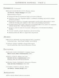 Production Manager Resume Moa Format