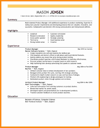 8 Product Manager Resume Examples Laredo Roses