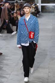 louis vuitton fanny pack. louis vuitton fall/ winter 2017 menswear collection includes supreme collaboration louis vuitton fanny pack n