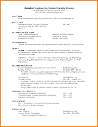 6 Engineering Student Resume Examples Marriage Biodata
