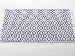 gray and white bath rug designs