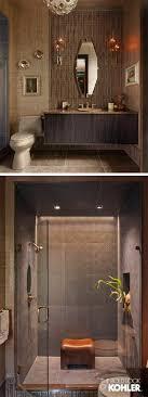 design ideas for bathrooms. An Earthy Color Palette For A Guest Bath. Design Ideas Bathrooms