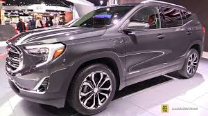 2018 gmc terrain denali. beautiful gmc 2018 gmc terrain  exterior and interior walkaround debut at 2017 detroit  auto show youtube for gmc terrain denali r