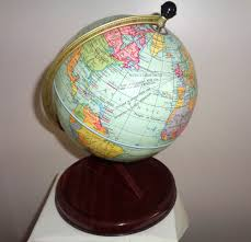 Chad valley toymakers association vintage globe