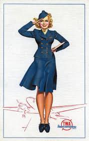 vintage stewardess pictures flight attendant photos from the past twa flight attendant poster