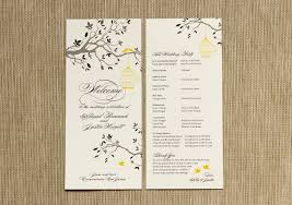 Everything You Need To Know About Wedding Programs