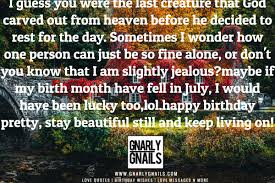 Charming Birthday Month Quotes ᴗ