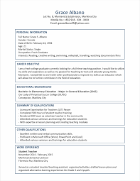 Libreoffice Resume Template Awesome Templates Nice Format For Fres