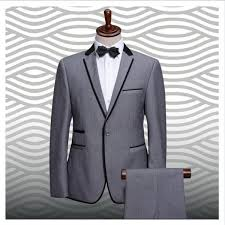 Customized Fashion New Slim Mens Suit Mens Business Suit Standard Size Chart And A Variety Of Colors To Choose From Mens Tuxedo Jackets Mens