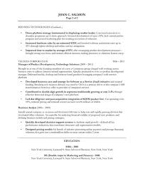 Resume Template Sample Resume For Product Manager Best Sample