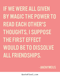 Anonymous Quotes About Friendship
