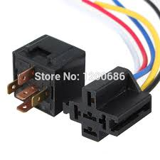 online get cheap 12v relay wiring aliexpress com alibaba group Durakool Relay Wiring Diagram 12v 30 40 a amp 5 pin 5p automotive harness car auto relay socket 5 wire durakool relay wiring diagram