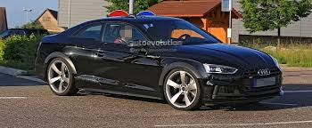 2018 audi wheels. brilliant audi 2018 audi rs5 coupe test mule spied in s5 overalls   autoevolution intended audi wheels